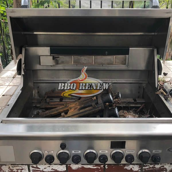 BEFORE BBQ Renew Cleaning & Repair in Anaheim Hills 3-13-2018