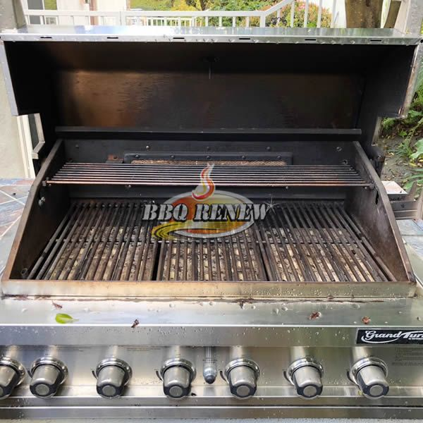 BEFORE BBQ Renew Cleaning in Portola Hills 3-15-2018